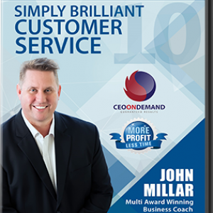 DVD 10 – Getting Simply Brilliant Customer Service