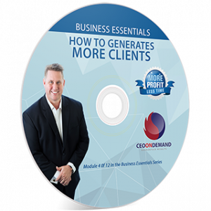 How to Generate More Clients Profitably